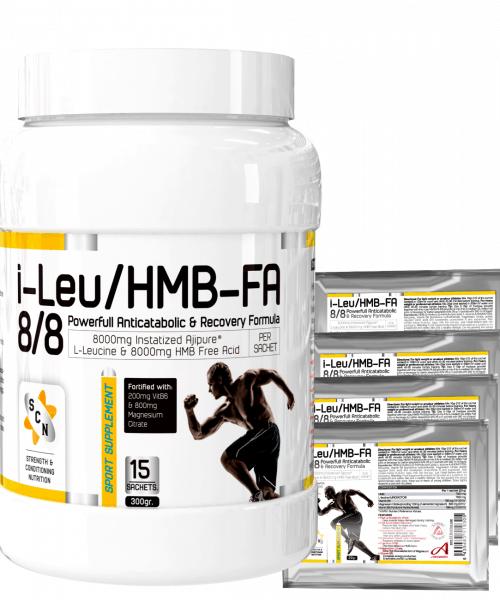 I-LEU/HMB-FA 8/8 – THE REAL ANTI-CATABOLIC FORMULA – INSTANTIZED AJIPURE™ L-LEUCINE WITH FREE ACID HMB